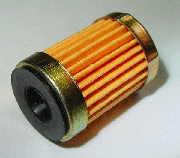Short Paper Carburetor Fuel Filter with check valve