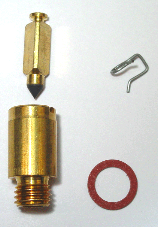 Carter 4 bbl Needle /& Seat AFB AVS Edelbrock Proformer Steel Tip Needle