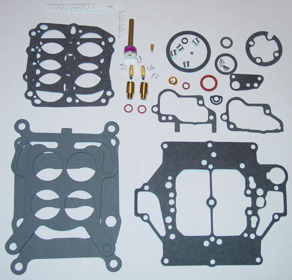 Carter WCFB Carburetor Rebuild Kit (4054A) - CHEVROLET 1958-65,