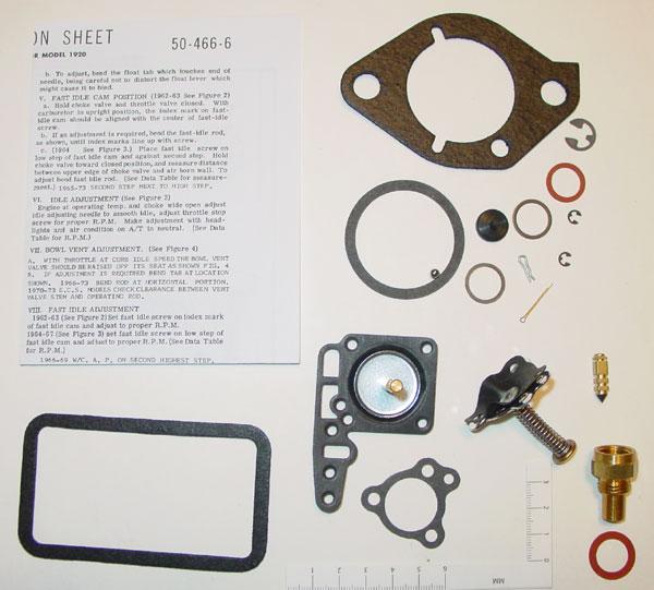 Holley 1920 Carburetor Rebuild Kit (4080E) -