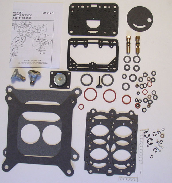 """HOL-125-45 Holley Carburetor 4.5/"""" POWER VALVE Replacement /& Gasket Washer Carb"""