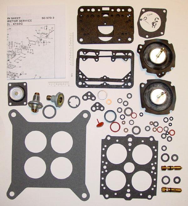 Holley 4150G, 4150EG Carburetor Rebuild Kit (4084H) - IHC TRUCK