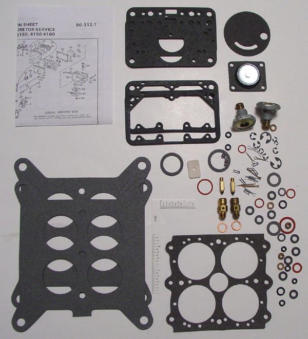 Holley 4150, 4160 Carburetor Rebuild Kit (4084J) - EDSEL 1958, F