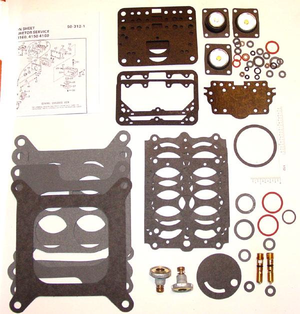 Holley 4150 Carburetor Rebuild Kit (4084O) - CHEVROLET 1966-70,
