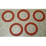 "Bowl Strainer Nut Gaskets - .60"" ID x .855"" OD - pack"