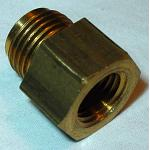 "5/8""-18 x 1/4 Pipe Thread - Fuel Inlet Reducer Fitting"