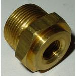 "7/8""-20 x 7/16""-24  - .500"" Extended Thread Inlet Fitting"
