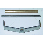 Rochester Air Cleaner Repair Bracket & Pin, 2G - (large bore - 2