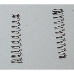 Quadrajet / Dualjet Springs for Primary Metering Rods (2 springs), fits Electron 1