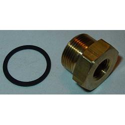 "7/8""-20 x 1/2""-20  - .400"" Thread Inlet Fitting 1"