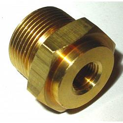 "7/8""-20 x 1/8""-Pipe Thread  - .500"" Extended Thread Inlet Fittin 1"
