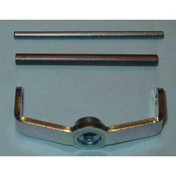 Rochester Air Cleaner Repair Bracket & Pin, 2G - (small bore - 2 1