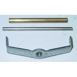 Rochester Air Cleaner Repair Bracket & Pin, 2G - (large bore - 2 1