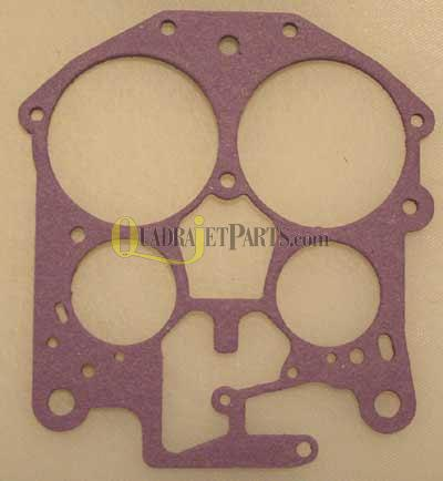 Quadrajet Throttle Body Gasket, OEM # 7040596, 17057341, 17051785, 17077634