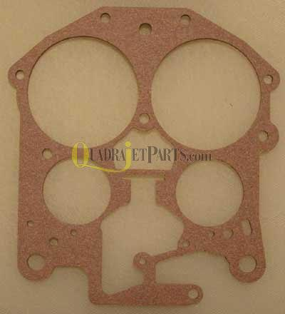 Rochester Quadrajet Carburetor Parts -  Throttle Body Gasket #17064728