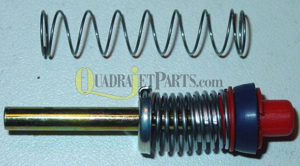 "Quadrajet Accelerator Pump Assembly, 21/32"" High Performance garter spring"