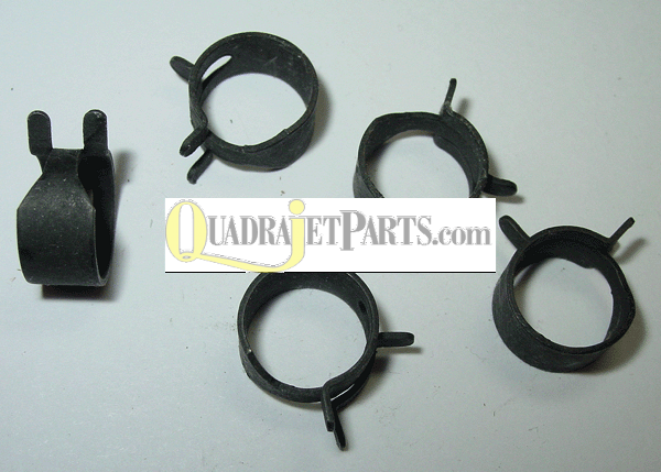 "5/16"" Steel Fuel Line Clamps - (5-pak)"