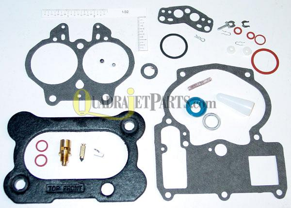 Rochester 2G Carburetor Rebuild Kit (A2), CHEVY 1971-73, Checker 1972