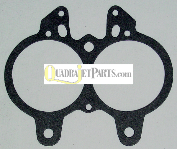 Throttle Body Gasket, Rochester 2G (Large Bore) OEM # 7010053, 7015345
