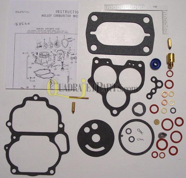 Holley 2110 Carburetor Rebuild Kit (4082B) - VOLKSWAGEN 1964-74