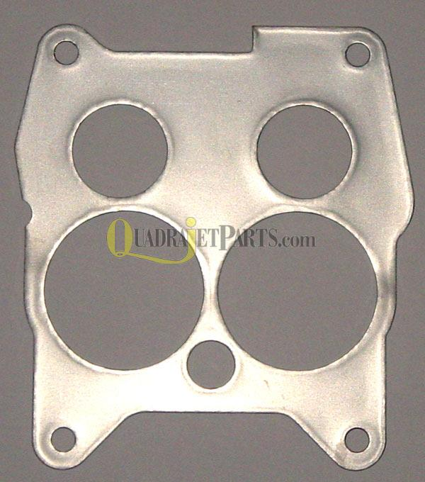 Quadrajet Steel Shim Heat Shield -Buick 1966-67, Cadillac 1967